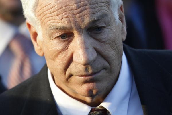 Jerry Sandusky, shown here during his trial, is currently serving a 30- to 60-year prison sentence.