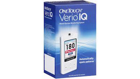 About 90,000 OneTouch Verio IQ meters are being recalled in the U.S. as part of a broader recall because some fail to operate properly at extremely high glucose readings.