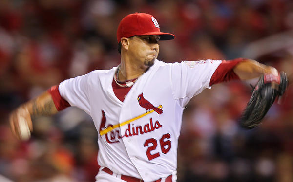 Kyle Lohse compiled a 16-3 record last season for the Cardinals.