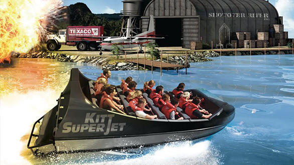 Kitt Super Jet boat ride