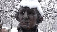 Washington's powdered wig