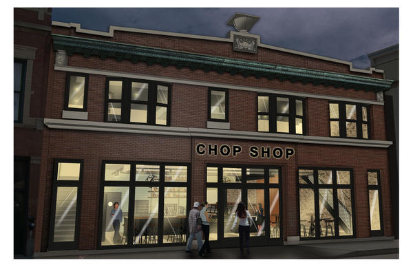 A rendering of Chicago Chop Shop