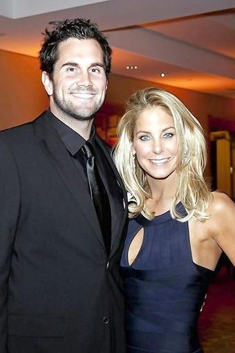 Matt Leinart and Stephanie Argyros.