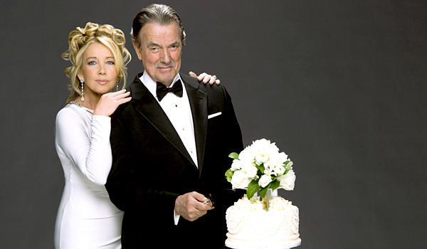 "Melody Thomas Scott stars as Nikki Newman and Eric Braeden stars as Victor Newman in ""The Young and the Restless."""