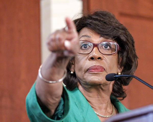 Rep. Maxine Waters (D-Calif.) is unhappy with Rep. Henry Waxman's decision to support the runway shift at LAX.