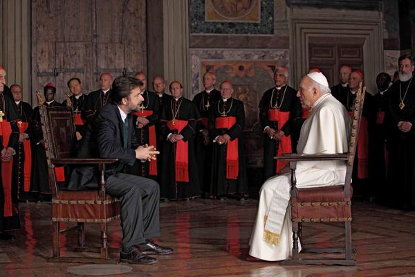 "A scene from Nanni Moretti's ""We Have A Pope"""