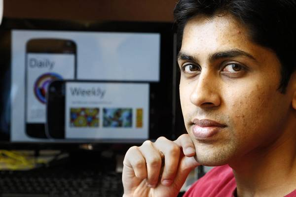 Harsh Vathsangam, 27, hopes to be one of about 10 applicants selected to join the 12-week Viterbi Startup Garage program, which starts May 28. He came to Los Angeles from Madras, India, in 2008 to pursue a doctorate at USC, and now wants to start a business based on his research into finding healthcare applications for mobile phones.