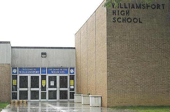 Renovations are planned at Williamsport High School this summer to create a security vestibule at the front entrance.