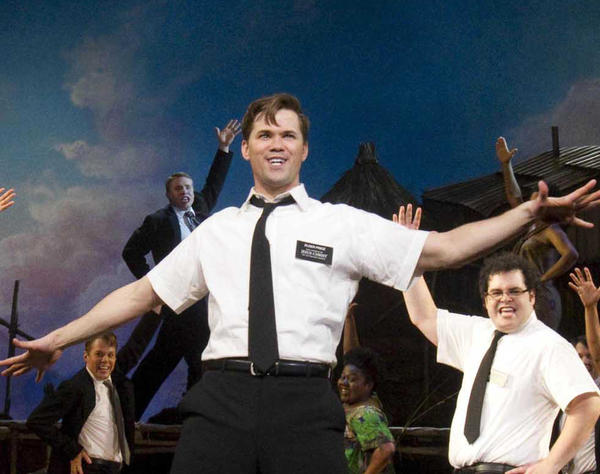 """The Book of Mormon"" has set record ticket sales at the Eugene O'Neill Theatre in New York."