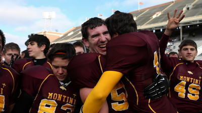 Montini's Dylan Thompson.