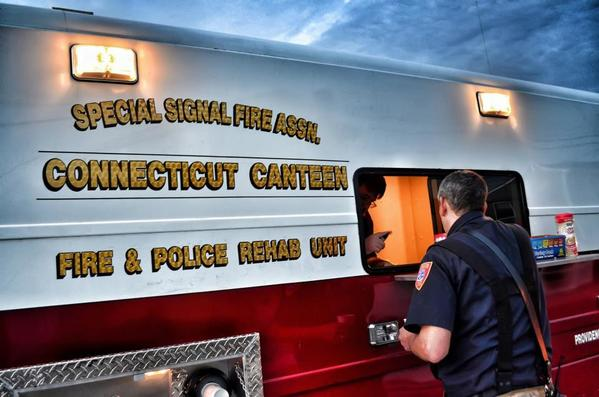 The Connecticut Canteen is a program that was established to support first responders on the scene.