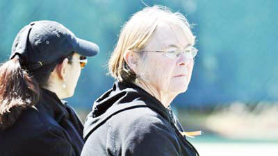 Former Harbor Springs and Petoskey High School tennis coach Margaret Ruemenapp was one of three members of the Class of 2013 to be inducted into the Michigan High School Tennis Coaches Association Hall of Fame last month at the Troy Marriott. Ruemenapp has been involved in tennis for hte past four decades as a player, coach and USPTA professional instructor and administrative staff member.