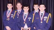 Franklin County High School's AFJROTC Marksmanship team placed fourth in the nation after setting their sights against more than 2,800 teams in competition on Saturday.