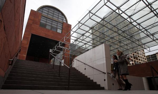 The Museum of Contemporary Art on Grand Avenue. MOCA's board announced a campaign to lift its endowment to $100 million, with initial pledges in hand that will bring it past $60 million.