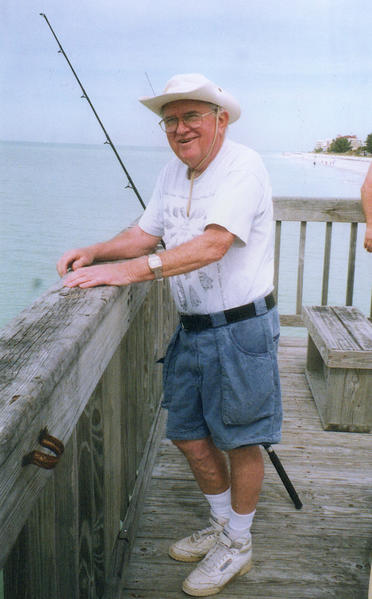 One of Robert Bray's many passions included fishing.