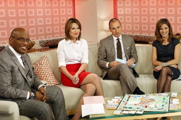 "NBC needs to fix ""Today"" a little more quietly. From left, Al Roker, Savannah Guthrie, Matt Lauer and Natalie Morales."