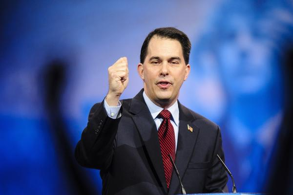 Wisconsin Gov. Scott Walker speaks to the 2013 Conservative Political Action Conference.