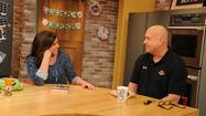 Rachel Ray and Cal Ripken, Jr.