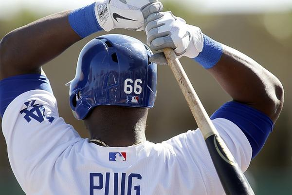 An extended stay in the minor leagues this season would affect Yasiel Puig's contract with the Dodgers.