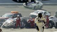 NASCAR on Tuesday said it would not penalize Joey Logano, Tony Stewart or any other driver following the wild finish to the race at Auto Club Speedway in Fontana.