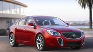 Looking to capitalize on a wave of strong sales in the last year, Buick on Tuesday unveiled a pair of updated sedans at the N.Y. Auto Show.