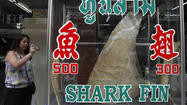 Maryland could outlaw the shark fin trade under a bill that passed the House of Delegates this week.