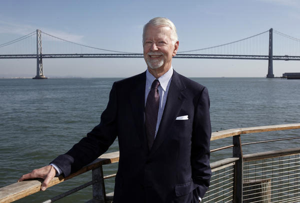 Retired U.S. District Judge Vaughn Walker, who presided over the Proposition 8 case and declared the law unconstitutional. He is now in private practice in San Francisco, where he was photographed last month.
