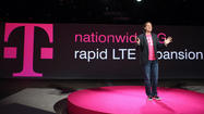 T-Mobile USA Inc. launched its 4G LTE network in seven metropolitan areas Tuesday, including Baltimore and Washington.