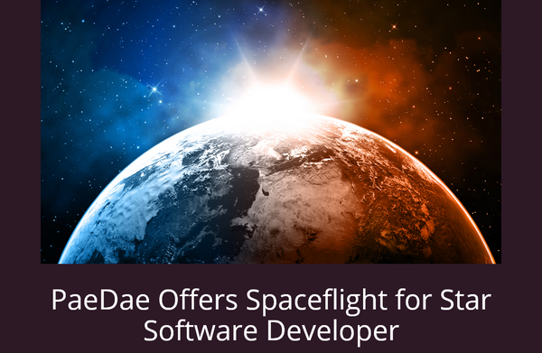 In an effort to land a top-notch developer, Santa Monica start-up PaeDae is offering a $5,000 cash signing bonus, a charitable donation to a nonprofit -- and the chance to win a trip to space.