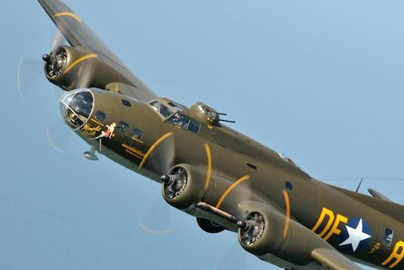 The B-17 dubbed the Movie Memphis Belle will be flying passengers over Long Beach on Saturday.