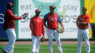 PICTURES: Spring Training Tampa Bay Rays vs. Philadelphia Phillies.