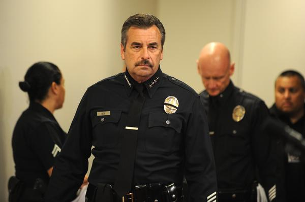 Los Angeles police Chief Charlie Beck is under pressure to improve the way the department handles claims of harassment by officers.