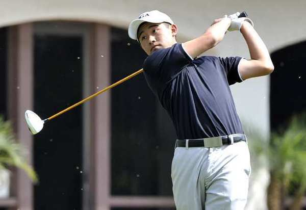 La Cañada High's Collin Morikawa shot a 72 in the Spartans' nonleague win over Crescenta Valley High Tuesday.