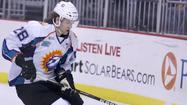 Corey Trivino scored three goals, and Mathieu Roy added a five-point night as the Florida Everblades routed the Orlando Solar Bears 8-3 at Amway Center.
