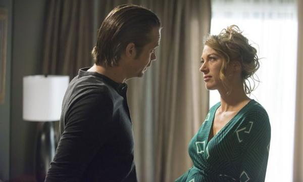 "Raylan (TImothy Olyphant) and Winona (Natalie Zea) finally come fact to face in the season finale of ""Justified."""