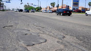 CALEXICO — Driving down Cole Road can be a hazardous experience as vehicles rattle down the roadway, drivers often swerve to avoid potholes, get confused as to what lane they should be in, and more.