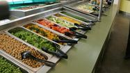 Photos: Sorting through calories at the salad bar