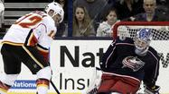 CHICAGO – It wasn't the longest cross-examination, but Jarome Iginla looked somewhat relieved to be leaving Chicago, not just because he was a minus-one and the Calgary Flames lost 2-0 to the Blackhawks.