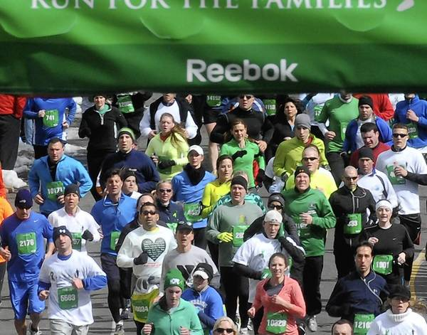 Sandy Hook Run for the Families, a 5K road race benefited families of victims in the Sandy Hook shootings.
