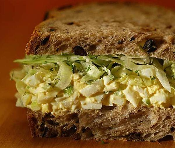 Egg salad sandwich? It's just one of the many ways to use up those leftover Easter eggs!