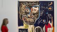 Artist Jean-Michel Basquiat is back -- despite dying in 1988 at age 27.