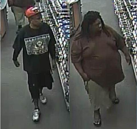 The Palm Beach County Sheriff's Office is looking for two men suspected of stealing two laptops from a Royal Palm Beach Radio Shack.