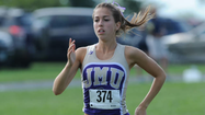 30-second timeout with Katie Harman, James Madison distance runner