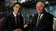 Kings great Luc Robitaille donated a 2012 Stanley Cup championship ring to the Hockey Hall of Fame on Wednesday, which added it to the Stanley Cup Championship display at the Hall in Toronto.