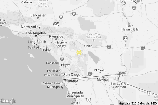Earthquake 3 3 Quake Strikes Near La Quinta Latimes