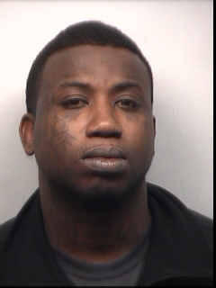 The rapper Gucci Mane, in a mug shot from the Fulton County Sheriff's Department.