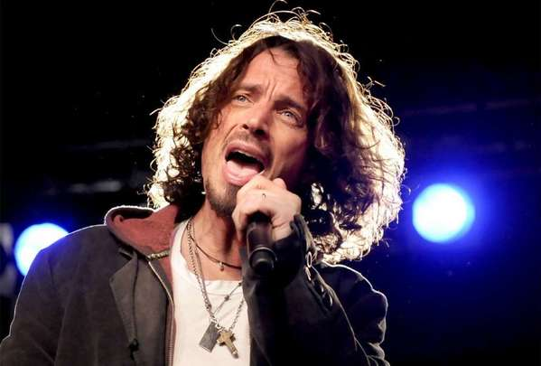 Musician Chris Cornell performs during a concert at the Columbia Club in Berlin in February 2009.