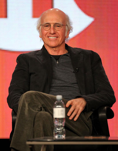 Larry David: One proud papa.