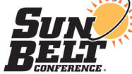 The Sun Belt Conference will add Georgia Southern, Appalachian State, Idaho and New Mexico State in 2014-15.