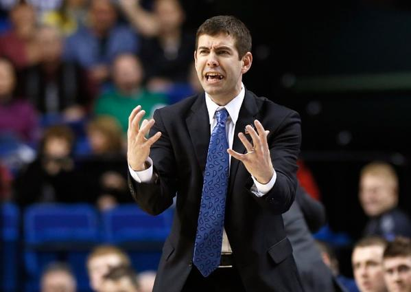 Butler Coach Brad Stevens is on the minds of UCLA officials, sources say.
